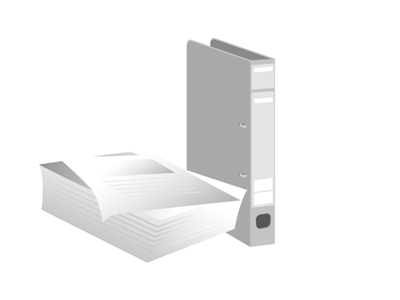 ファイルと書類