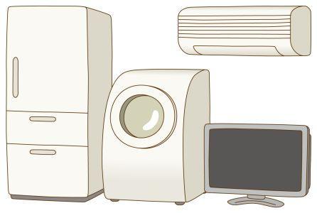 シンプルな家電