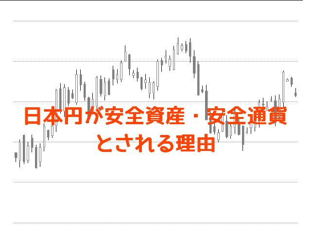 日本円が安全資産・安全通貨とされる理由